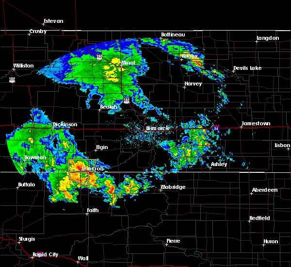 Radar Image for Severe Thunderstorms near Lemmon, SD at 6/30/2020 2:40 AM MDT