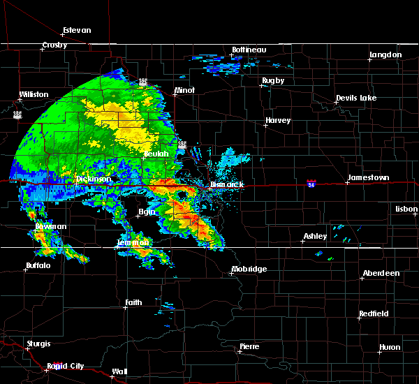 Radar Image for Severe Thunderstorms near Solen, ND at 6/30/2020 8:09 AM CDT