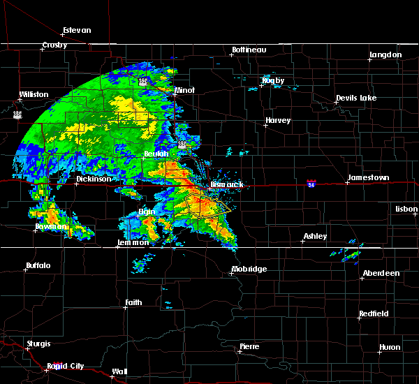 Radar Image for Severe Thunderstorms near Lincoln, ND at 6/30/2020 8:37 AM CDT
