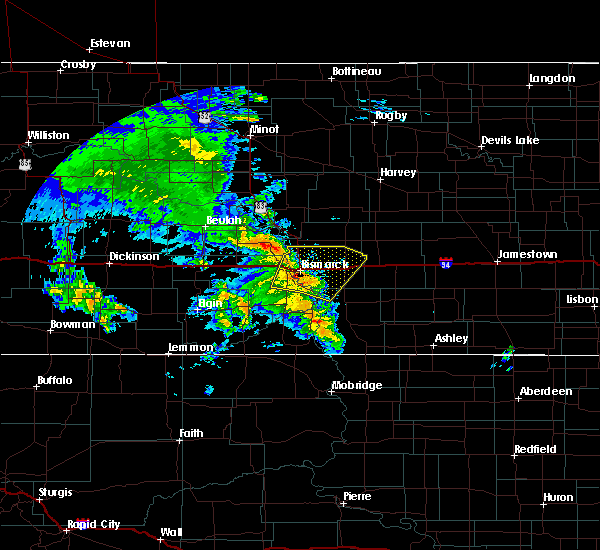 Radar Image for Severe Thunderstorms near Lincoln, ND at 6/30/2020 8:53 AM CDT