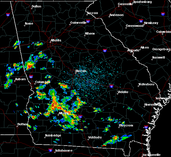 Radar Image for Severe Thunderstorms near Pitts, GA at 6/30/2020 2:29 PM EDT