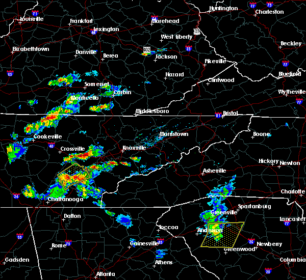 Radar Image for Severe Thunderstorms near Coalfield, TN at 6/30/2015 2:22 PM EDT