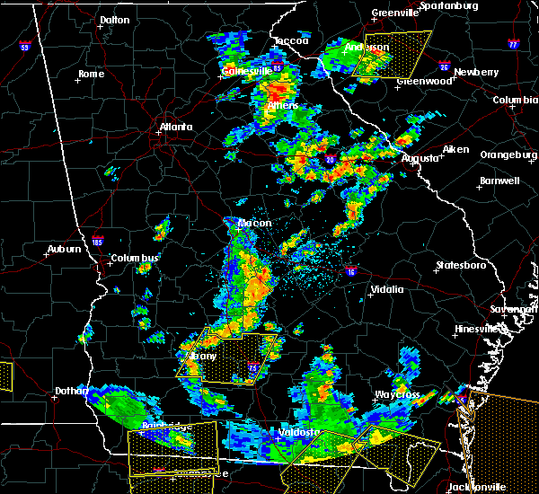 Radar Image for Severe Thunderstorms near Rentz, GA at 6/30/2015 2:25 PM EDT