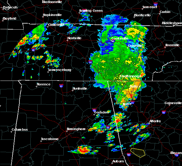Radar Image for Severe Thunderstorms near Calhoun, GA at 6/30/2020 3:03 PM EDT