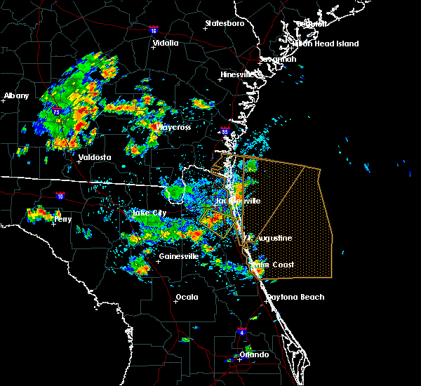 Radar Image for Severe Thunderstorms near World Golf Village, FL at 6/30/2020 3:47 PM EDT