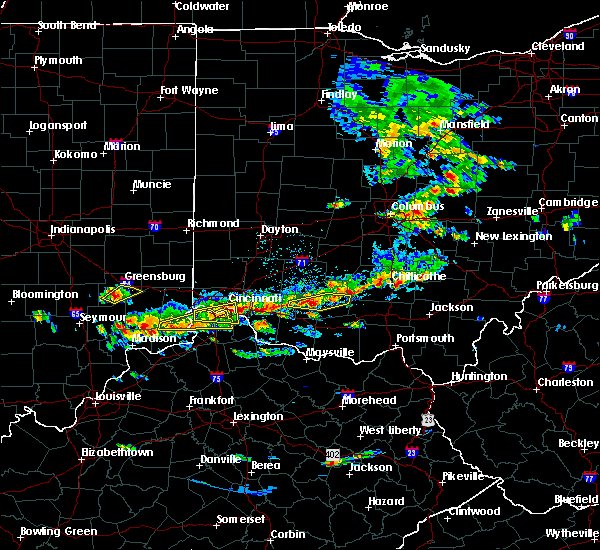 Radar Image for Severe Thunderstorms near Rising Sun, IN at 6/30/2015 2:26 PM EDT