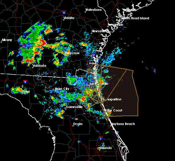 Radar Image for Severe Thunderstorms near World Golf Village, FL at 6/30/2020 4:02 PM EDT