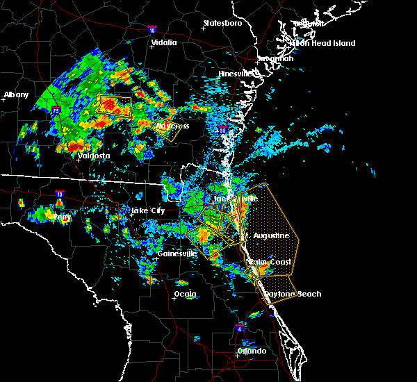Radar Image for Severe Thunderstorms near World Golf Village, FL at 6/30/2020 4:17 PM EDT