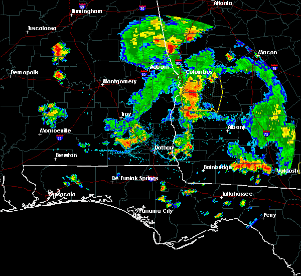 Radar Image for Severe Thunderstorms near Richland, GA at 6/30/2020 5:09 PM EDT