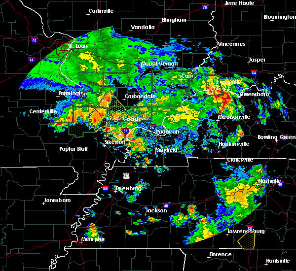 Radar Image for Severe Thunderstorms near Anna, IL at 6/30/2020 5:30 PM CDT