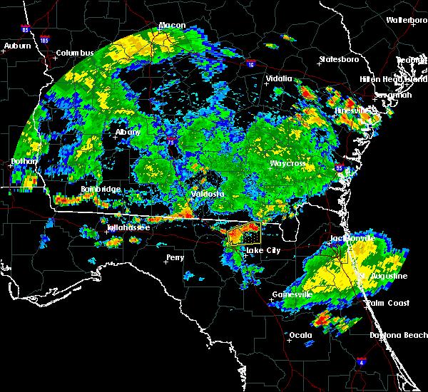 Radar Image for Severe Thunderstorms near Lake Park, GA at 6/30/2020 6:33 PM EDT