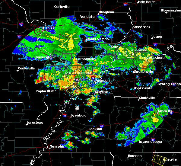 Radar Image for Severe Thunderstorms near Mound City, IL at 6/30/2020 6:10 PM CDT
