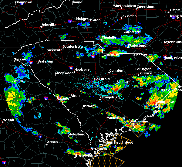 Radar Image for Severe Thunderstorms near Martinez, GA at 6/30/2020 7:41 PM EDT