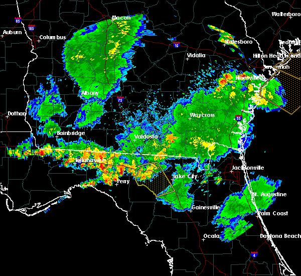 Radar Image for Severe Thunderstorms near Lake City, FL at 6/30/2020 7:53 PM EDT
