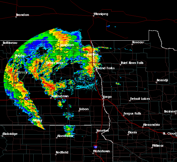 Radar Image for Severe Thunderstorms near Glenfield, ND at 6/30/2020 7:50 PM CDT