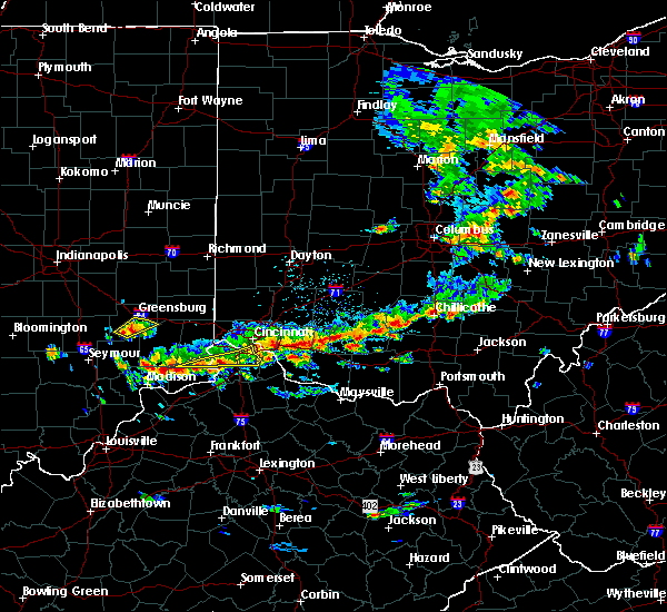 Radar Image for Severe Thunderstorms near Williamsburg, OH at 6/30/2015 2:35 PM EDT