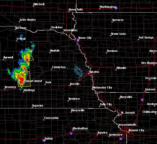 Radar Image for Severe Thunderstorms near Cedar Rapids, NE at 6/30/2020 9:22 PM CDT