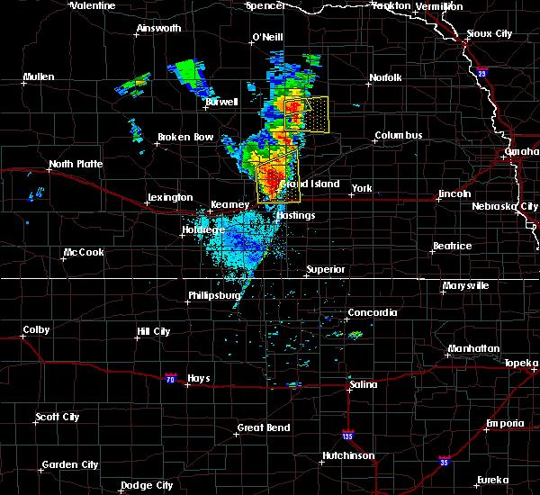 Radar Image for Severe Thunderstorms near Phillips, NE at 6/30/2020 9:29 PM CDT