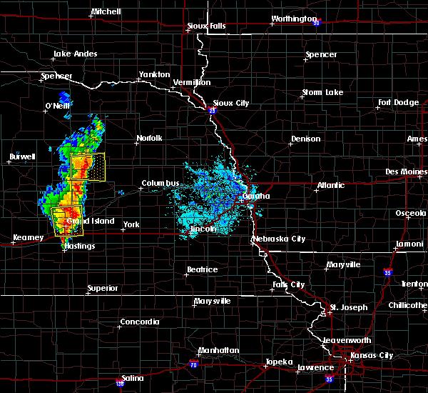Radar Image for Severe Thunderstorms near Cedar Rapids, NE at 6/30/2020 9:42 PM CDT