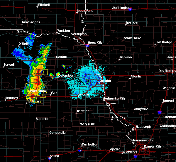 Radar Image for Severe Thunderstorms near Clarks, NE at 6/30/2020 10:17 PM CDT