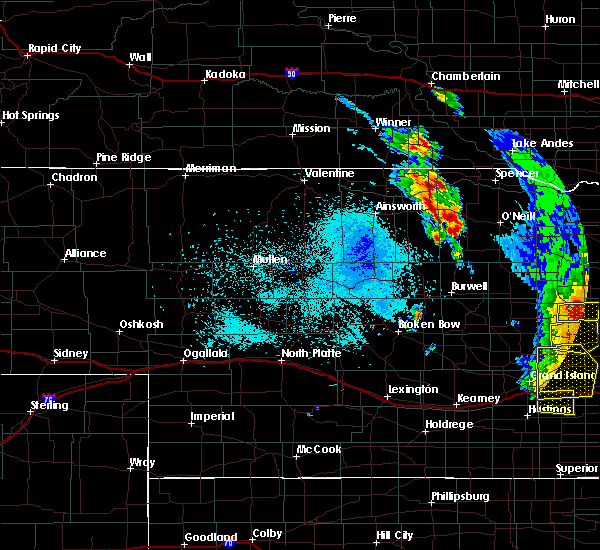Radar Image for Severe Thunderstorms near Atkinson, NE at 6/30/2020 10:33 PM CDT
