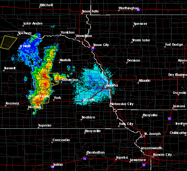 Radar Image for Severe Thunderstorms near Clarks, NE at 6/30/2020 10:41 PM CDT