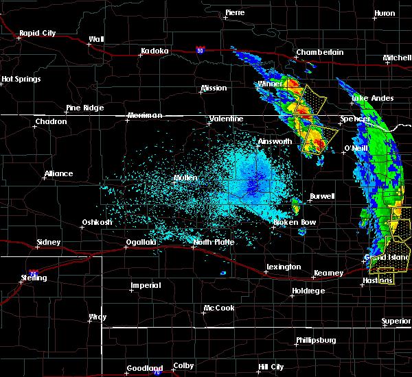Radar Image for Severe Thunderstorms near Herrick, SD at 6/30/2020 10:46 PM CDT