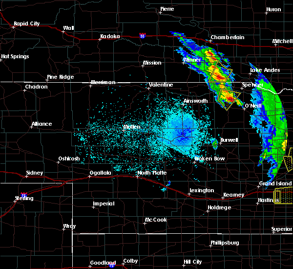 Radar Image for Severe Thunderstorms near Herrick, SD at 6/30/2020 10:59 PM CDT