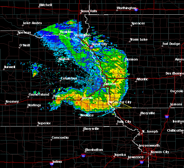 Radar Image for Severe Thunderstorms near Braddyville, IA at 7/1/2020 1:52 AM CDT