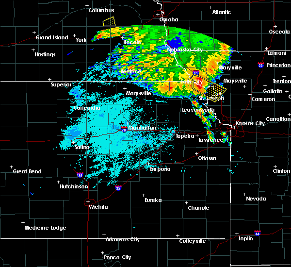 Radar Image for Severe Thunderstorms near Amazonia, MO at 7/1/2020 3:47 AM CDT