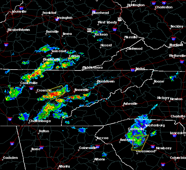 Radar Image for Severe Thunderstorms near Coalfield, TN at 6/30/2015 2:42 PM EDT