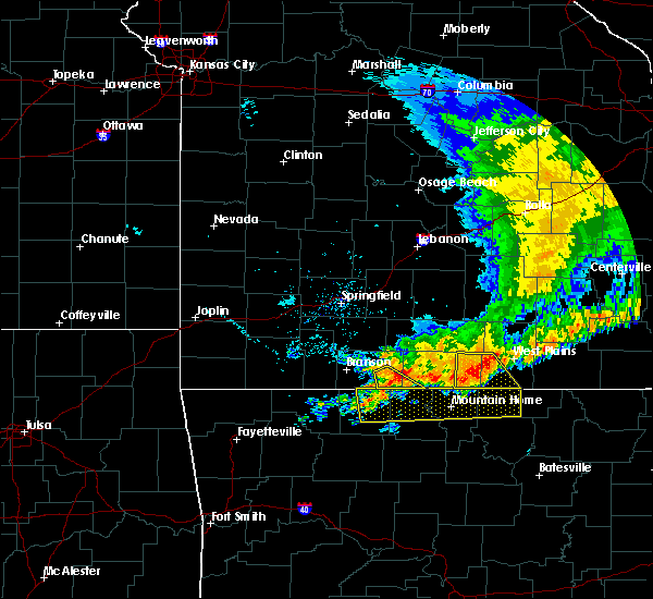 Radar Image for Severe Thunderstorms near Brandsville, MO at 7/1/2020 12:03 PM CDT