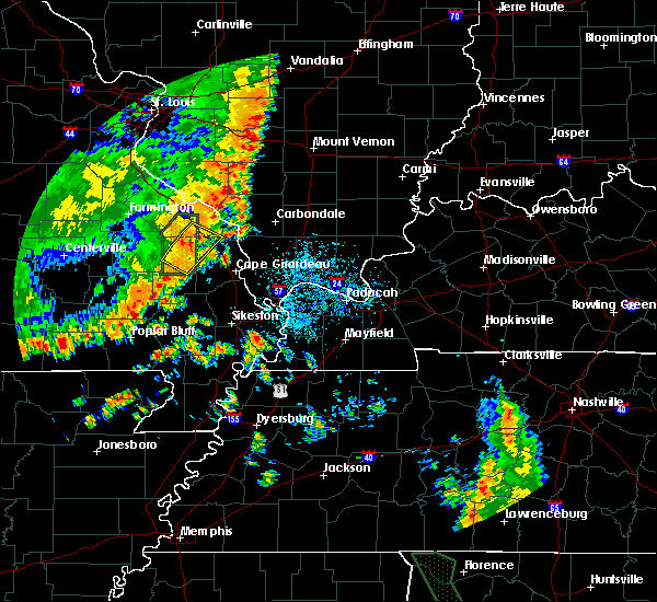 Radar Image for Severe Thunderstorms near Perryville, MO at 7/1/2020 12:53 PM CDT