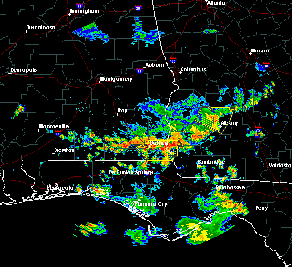 Radar Image for Severe Thunderstorms near Cowarts, AL at 7/1/2020 1:12 PM CDT