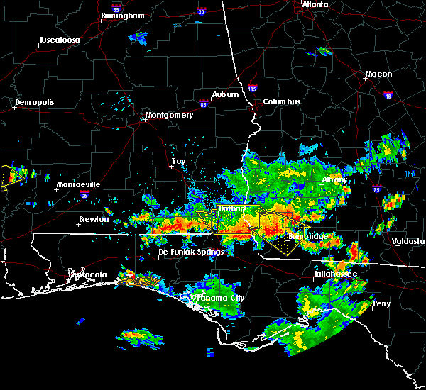 Radar Image for Severe Thunderstorms near Cottonwood, AL at 7/1/2020 1:47 PM CDT