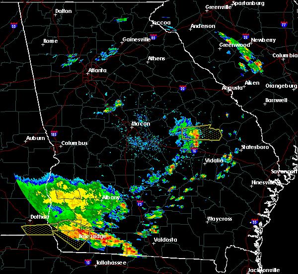 Radar Image for Severe Thunderstorms near Kite, GA at 7/1/2020 2:59 PM EDT