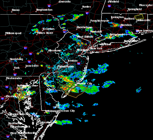 Radar Image for Severe Thunderstorms near Sea Isle City, NJ at 7/1/2020 4:10 PM EDT