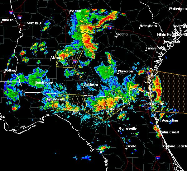 Radar Image for Severe Thunderstorms near Madison, FL at 6/30/2015 2:55 PM EDT