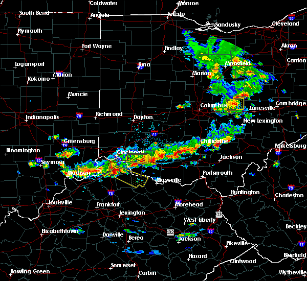 Radar Image for Severe Thunderstorms near Williamsburg, OH at 6/30/2015 2:55 PM EDT