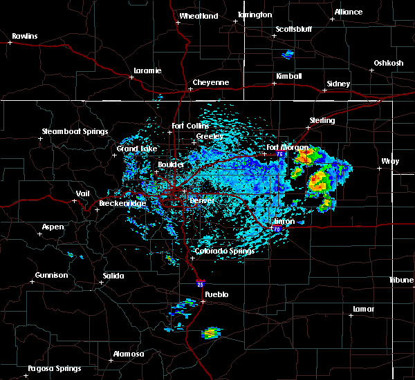 Radar Image for Severe Thunderstorms near Atwood, CO at 7/2/2020 1:45 PM MDT