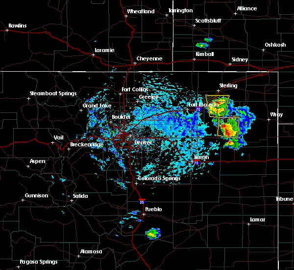 Radar Image for Severe Thunderstorms near Atwood, CO at 7/2/2020 2:06 PM MDT