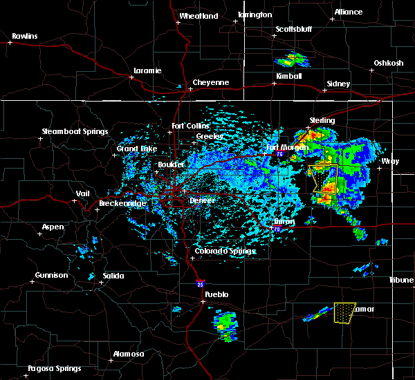 Radar Image for Severe Thunderstorms near Sterling, CO at 7/2/2020 2:33 PM MDT