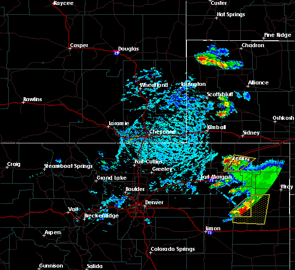 Radar Image for Severe Thunderstorms near Sterling, CO at 7/2/2020 2:47 PM MDT
