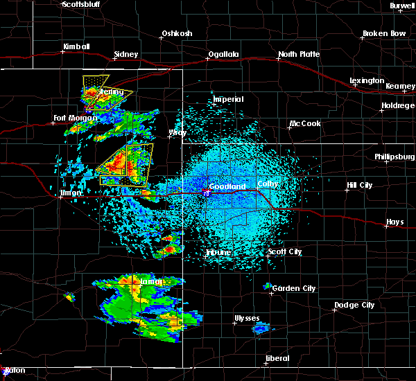 Radar Image for Severe Thunderstorms near Joes, CO at 7/2/2020 2:53 PM MDT