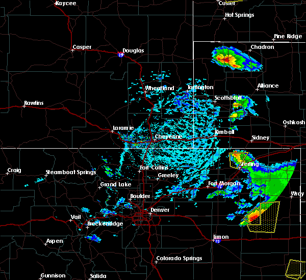 Radar Image for Severe Thunderstorms near Sterling, CO at 7/2/2020 3:14 PM MDT