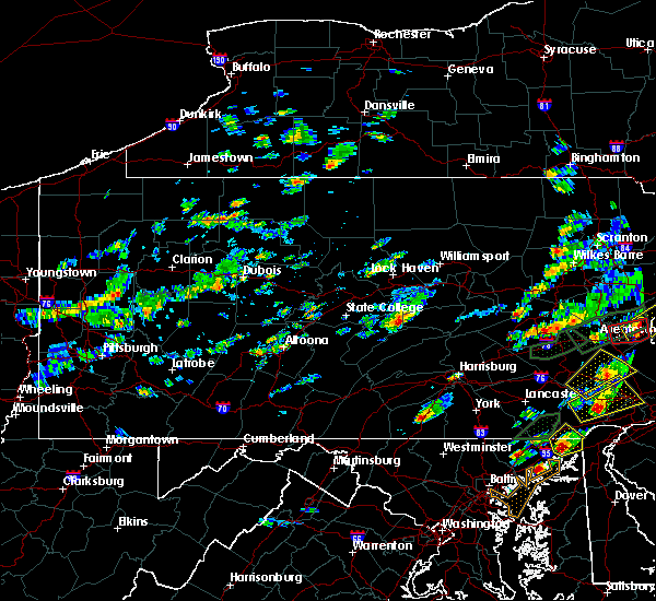 Radar Image for Severe Thunderstorms near Mifflinburg, PA at 6/30/2015 3:10 PM EDT