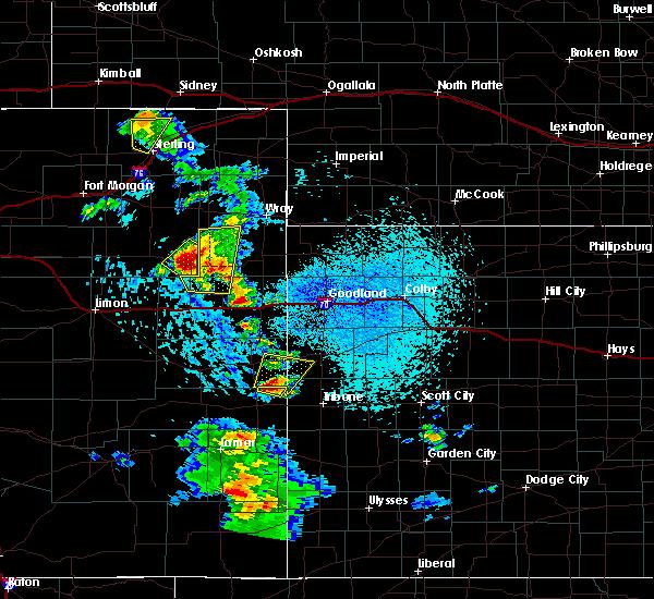 Radar Image for Severe Thunderstorms near Weskan, KS at 7/2/2020 3:17 PM MDT