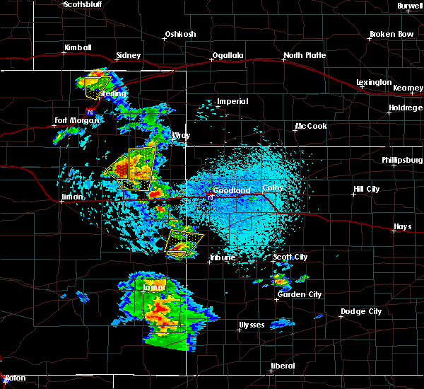 Radar Image for Severe Thunderstorms near Joes, CO at 7/2/2020 3:20 PM MDT