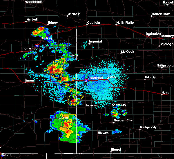 Radar Image for Severe Thunderstorms near Holly, CO at 7/2/2020 3:29 PM MDT