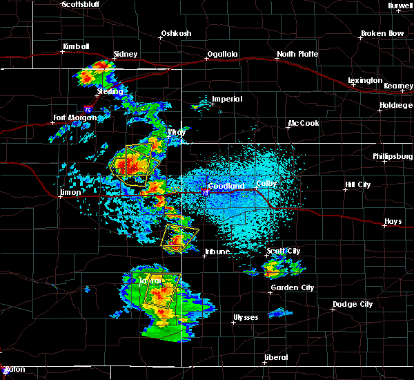Radar Image for Severe Thunderstorms near Granada, CO at 7/2/2020 3:36 PM MDT